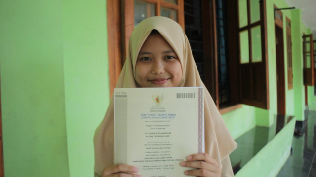 Sertifikat LSP SMK Nuris Jember