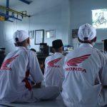 Didik Siswa Untuk Tertib Berlalu lintas, MPM Honda Surabaya Gelar Webinar Safety Riding